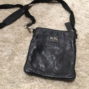Coach Mia Embossed Leather Swingpack